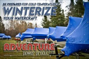 Winterization, Shrink, and Storage - Boats, Pontoons, PWC