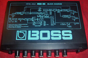 Used Boss RDD-20 Half-Rack Digital Delay 80's Vintage 1.5 Sec. West Island Greater Montréal image 2