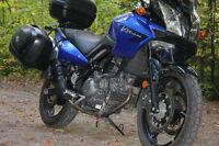 Suzuki VStrom 650 Adventure Awaits