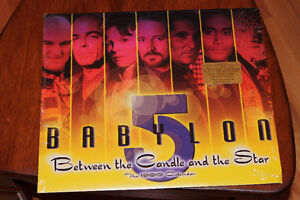 Babylon 5 Beteen the Candle and the Star 1999 Calendar