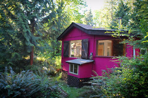 "Gambier Island ""Rose Cottage"" + Studio for sale $199k"