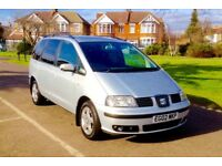 2002 Seat Alhambra 1.9 TDI Se Tiptronic Automatic 7 Seater 3 Months Mot 125000 Mileage
