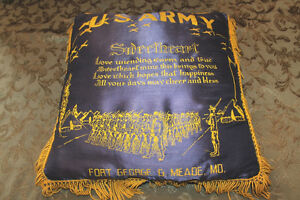 Vintage US Army Pillow London Ontario image 1