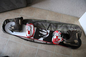 Women's board, bindings, bag, and boots size 8 $300 OBO