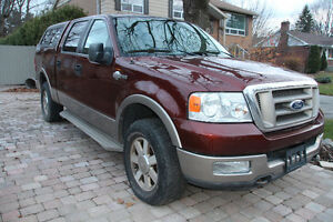 FORD F-150 KING RANCH 2005 LEATHER SEATS, PICK UP