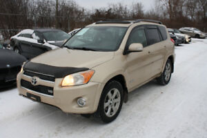 2009 Toyota RAV4 Limited 4WD V6 | SAFETIED| NEW TIRES | PUSH BUT