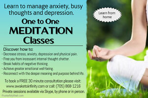 Learn to manage anxiety with Meditation Peterborough Peterborough Area image 1