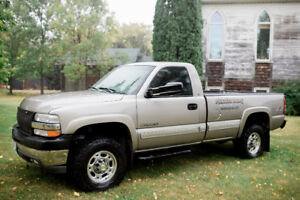 2001 Chevrolet Silverado 2500 HD LS Regular Cab Long Box 4x4