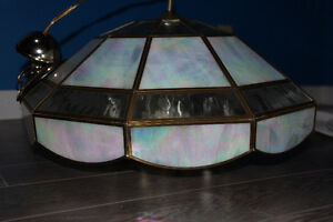 Ceiling Light Fixture - Glass and Opal-like panels Prince George British Columbia image 2