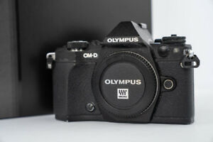 Used Olympus E-M5 Mark II + Lenses Good Condition