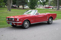 1965 Ford Mustang Convertible - A Classic