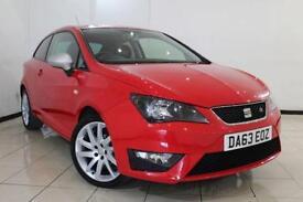 2013 63 SEAT IBIZA 1.2 TSI FR 3DR 104 BHP