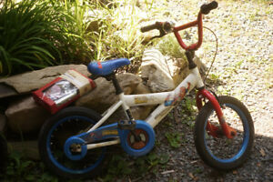 """Kids Childs 12"""" Spider-man Bicycle Bike for 3-5 Years"""