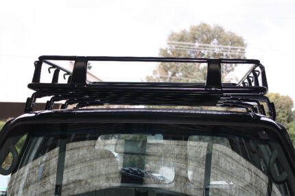 FULL LENGTH STEEL UNIVERSAL FULL CAGE ROOF RACK GUTTER MOUNTED Campbellfield Hume Area Preview