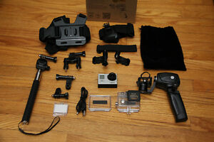 GoPro Hero 3 - with powered Gimbal and lots of new accessories!