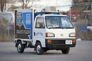 Honda Acty SDX Minitruck Refrigerated Beer / Beverage Dispenser!