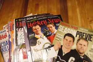 Hockey News Magazine (18 mags from 2015/16)