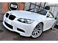 2012 61 BMW M3 4.0 M3 2D AUTO 415 BHP-MINERAL WHITE-COMPETITION PACK-AMAZING EXA