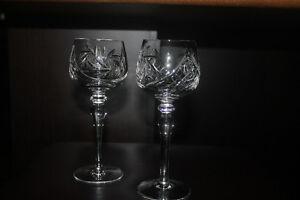 Pinwheel wine stemware