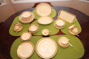 VINTAGE 1940's Art Deco Burgess & Leigh Burleigh Ware Fine China