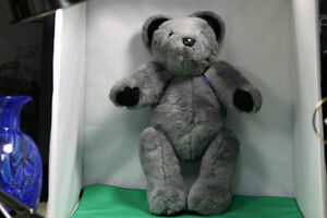 Soft cuddly Grey Teddy Bear fully moveable joints, & backpack Kingston Kingston Area image 9