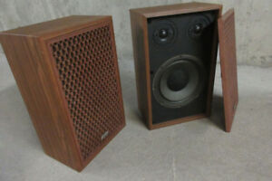 Vintage Quality Stereo Speakers