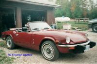 75 Triumph Spitfire For Sale