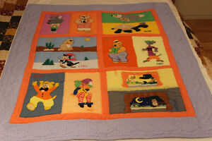 Fun quilt for the kids