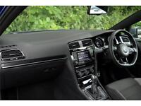 2014 Volkswagen Golf R 2.0 TSI 300 PS 6-speed DSG 3 Door Petrol blue Semi Auto