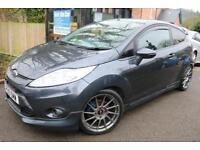 2010 Ford Fiesta Zetec S 1.6 Grey 3 Door UPGRADED WHEELS Finance Available