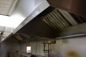 Restaurant kitchen exhaust system for sale!!