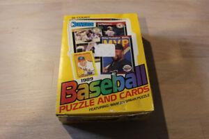 1989 Donruss Baseball Factory Wax Box - Mint