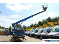 2006/56 Nissan Cabstar 3.5 Ton CTE Cherry Picker Access Platform - 15 Metre