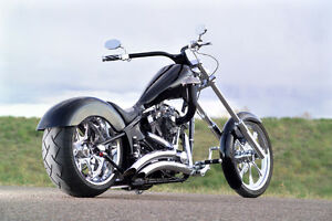 Custom Motorcycle - Project Xtremely Chopped