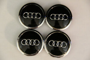 Audi Wheel Caps 69mm NEW B8 A4 S4 A5 S5 A6 A7 Q5 Q7