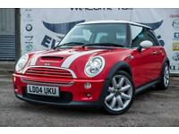 2004 MINI COOPER S 1.6 3DR HALF LEATHER SEATS! XENONS! HATCHBACK PETROL