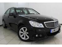 2012 12 MERCEDES-BENZ C CLASS 2.1 C220 CDI BLUEEFFICIENCY SE 4DR 168 BHP DIESEL