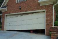 Affordable garage door and opener repairs