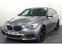 2014 BMW 5 Series 2.0 520d M Sport GT 5dr Diesel Auto (144 g/km, 184 bhp) Hatchb