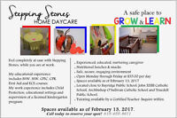 Stepping Stones Home Daycare