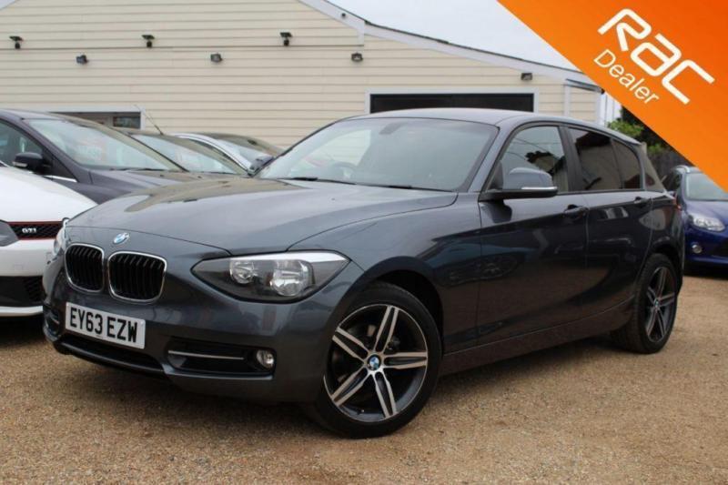 2013 63 BMW 1 SERIES 2.0 118D SPORT 5D AUTO 141 BHP DIESEL - RAC DEALER