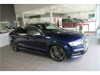 2017 Audi S3 TFSI Saloon Petrol Automatic
