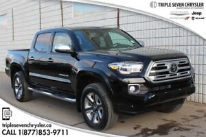 2018 Toyota Tacoma 4x4 Double Cab V6 Limited 6A Only 1600 KM!  S
