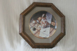 Limited Edition Steve Hanks Plate - Young at Art - Mint