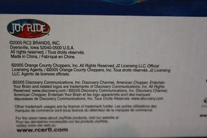 American Choppers Motorcycle Kit FACTORY SEALED (VIEW OTHER ADS) Kitchener / Waterloo Kitchener Area image 4