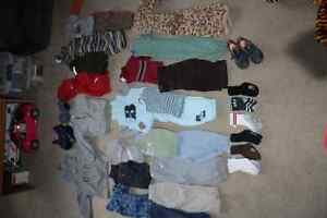 infant boy fall/winter clothing lot