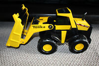 Tonka Front Loader - black and yellow..2009 hasbro model