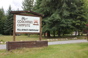 Campground for sale in the Kootenays