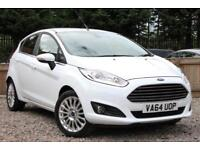 FORD FIESTA 1.0 EcoBoost Titanium S-S 5 Door Hatchback White Manual Petrol, 2015
