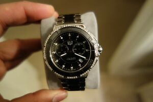 Mont Blanc, Versace, Longines, and Tag watches for sale